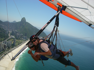 Get high over Rio