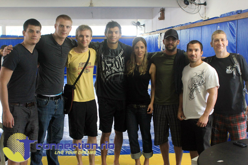 CR BJJ Hostel crew with Milton Vieira at BTT