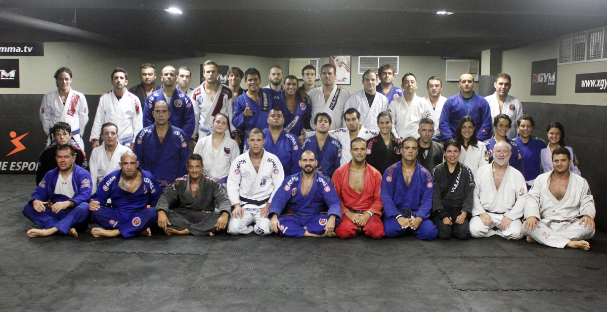 Connection Rio training at Behring Jiu-jitsu